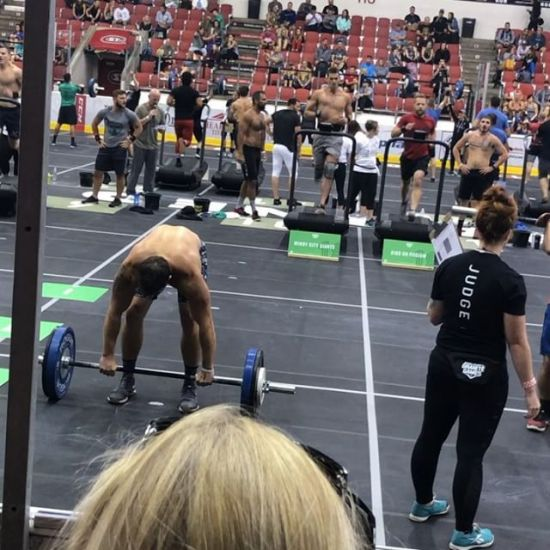 Fun first day @thegranitegames with @ptak85 @gvanarke. Everything is sore already!!#windycitycrossfit