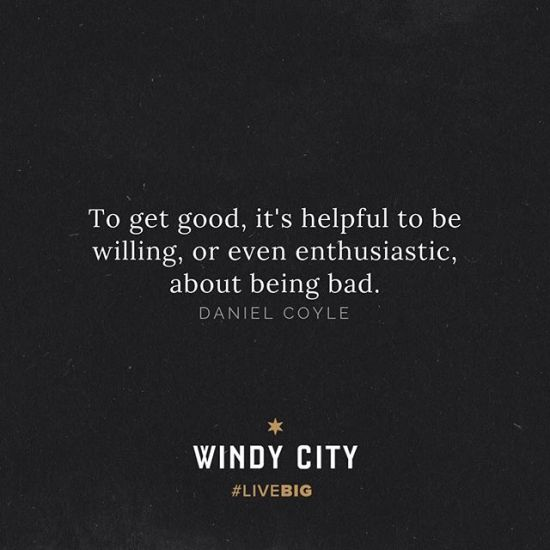 We were all beginners once... • #windycitylivin #LiveBIG