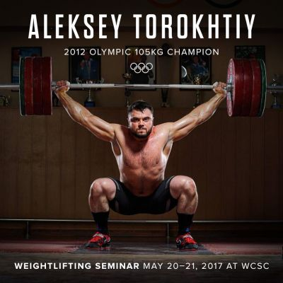 Aleksey Torokhtiy Weekend Weightlifting Seminar