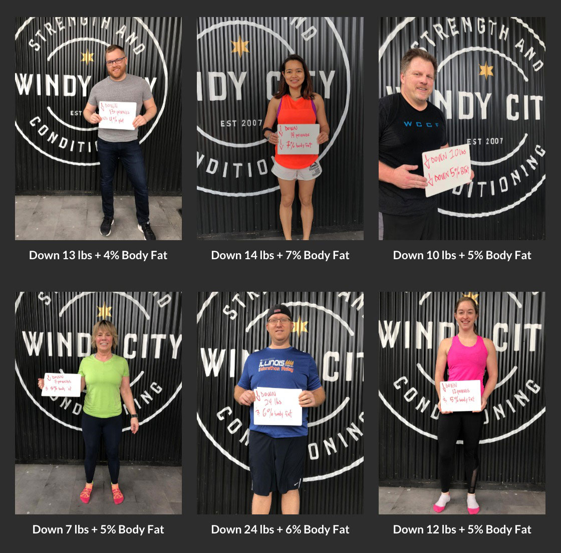 Windy City 6 Week Kickstart Success Stories